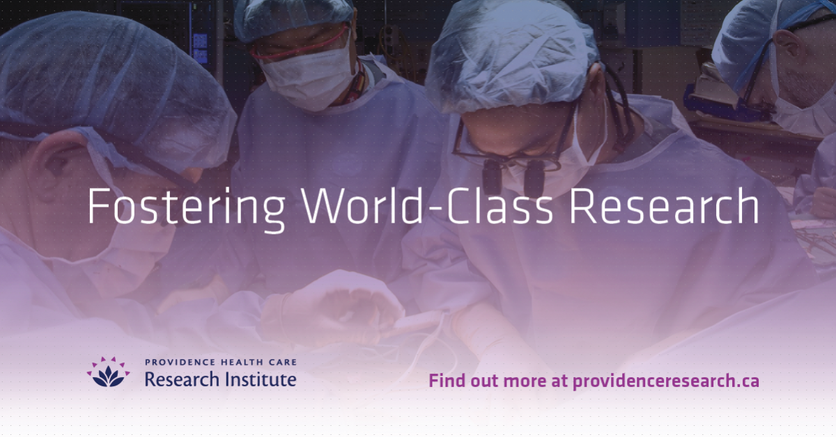 Providence Health Care Research Institute |